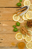 Aromatic background Stock Photography