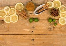 Aromatic baking ingredients Stock Photography