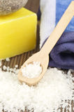 Bath salt Royalty Free Stock Photo