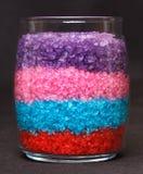Aromatic bath sea salt Stock Photography