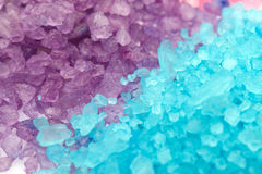 Aromatic bath sea salt Royalty Free Stock Images