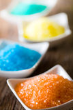 Aromatic bath sea salt Royalty Free Stock Photos