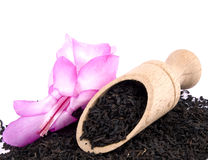 Aromatic black tea Royalty Free Stock Photography