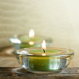 Aromatic candles Royalty Free Stock Photo