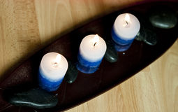 Aromatic candles Stock Photo