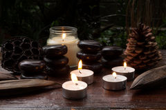 Aromatic candles Royalty Free Stock Image