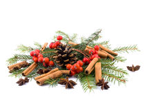 Aromatic Christams decoration Royalty Free Stock Photo