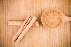 Aromatic cinnamon Stock Images
