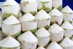 Aromatic coconut stackable Stock Images