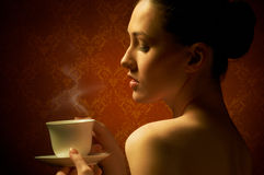 Aromatic coffee Royalty Free Stock Image