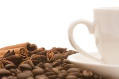 Aromatic coffee Stock Photo
