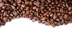 Aromatic coffee beans Stock Images