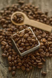 Aromatic coffee beans Stock Image