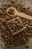 Aromatic coffee beans Stock Image