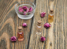 Aromatic essences Stock Photography