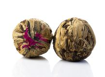 Free Aromatic Flower Green Chinese Tea Ball Royalty Free Stock Photo - 104237685