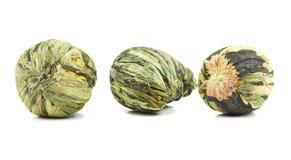 Aromatic flower green tea Royalty Free Stock Photo