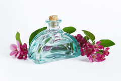 Aromatic flower oil Royalty Free Stock Images