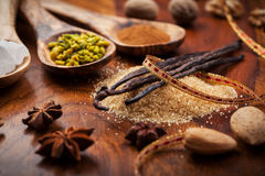 Aromatic food ingredients for baking Stock Image