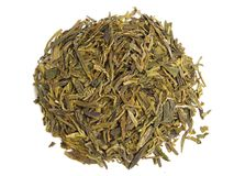 Free Aromatic Green Tea Leaves Royalty Free Stock Images - 4853429