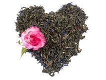 Free Aromatic Green Tea - Valentine Heart Royalty Free Stock Image - 17983406