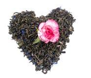 Free Aromatic Green Tea - Valentine Heart Royalty Free Stock Photo - 18049435