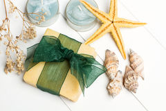 Aromatic handmade soaps Royalty Free Stock Photo