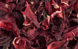 Aromatic Hibiscus tea Stock Photo