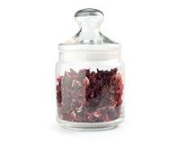 Aromatic Hibiscus tea Stock Images