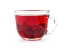 Aromatic Hibiscus tea Royalty Free Stock Images