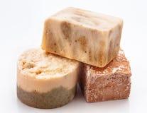 Aromatic homemade soap Stock Photo