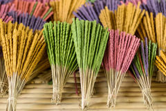 Aromatic incense sticks Stock Photography