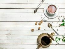 Aromatic Indian tea. Stock Photos