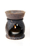 Aromatic lamp. From the stone Stock Photos