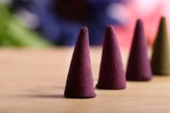 Aromatic mud cones Royalty Free Stock Image