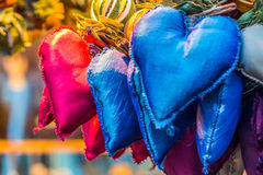 Aromatic and multicolored decoration stand Stock Photography