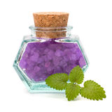 Aromatic natural mineral salt Royalty Free Stock Photos
