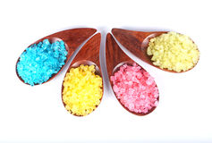 Aromatic natural mineral salt Royalty Free Stock Photography