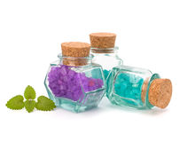 Aromatic natural mineral salt Stock Photography