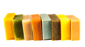Aromatic natural soap Royalty Free Stock Image