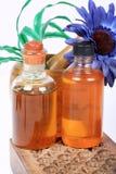 Aromatic oil bottles Stock Photography