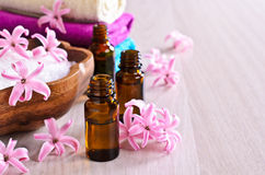 Aromatic oil for Spa. Royalty Free Stock Photography