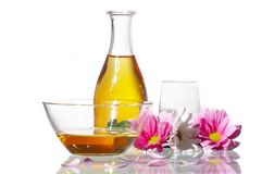 Aromatic oils Royalty Free Stock Images