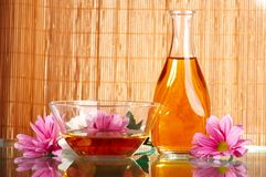 Aromatic oils Royalty Free Stock Photo