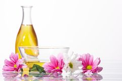 Aromatic oils Stock Image