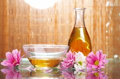 Aromatic oils royalty free stock image