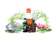 Aromatic oils and perfume Royalty Free Stock Photo