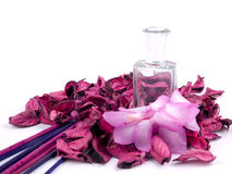 Aromatic pink decoration Stock Photography