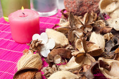 Aromatic pot pourri Royalty Free Stock Photo
