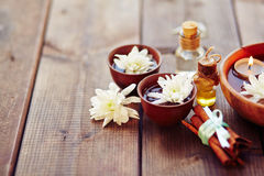 Aromatic relax Stock Photos